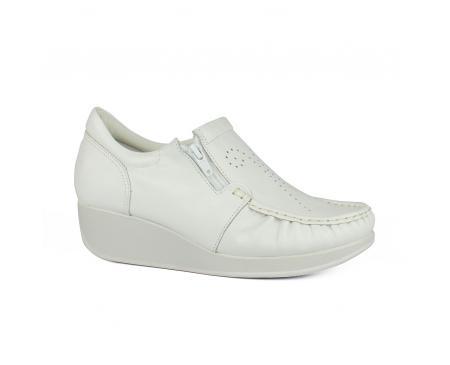 3a13feec8 Anabela Usaflex Branco Feminino | Imperador Calçados